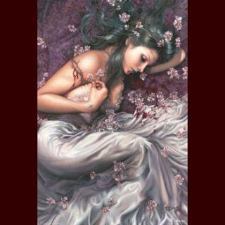 Sarah Arantza Poster Gothic Fantasy Mystik Großformat