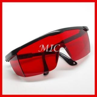 Safety Glasses 190nm 540nm Blue Green Laser Ray Eye Protection Goggles