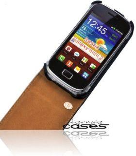 Premium Flip Style Handytasche für das Samsung Galaxy Mini 2   mit