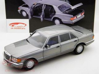 Mercedes Benz 560 SEL (W126) Bj.1985 dunkelgrau / darkgrey metallic 1