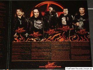 LP   GOTTHARD   Firebird / 2012 / BROWN   VINYL / SEALED   OVP
