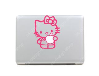 Hello Kitty Pink Decal Sticker for Apple MacBook Pro Unibody Mac Air