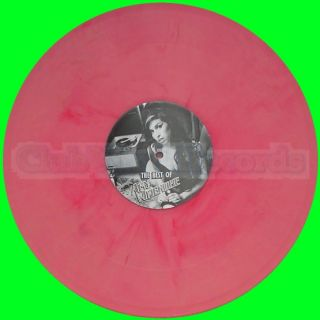 NEW 12 / AMY WINEHOUSE   THE BEST OF LIMITED VINYL COLORED