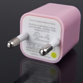 USB Universal EU AC Power Adapter Wall Charger For iPhone 3G 3GS 4 4G