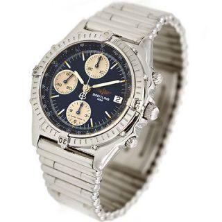 Mens Breitling Windrider Chronomat Bullet Rouleaux Bracelet Watch Ref