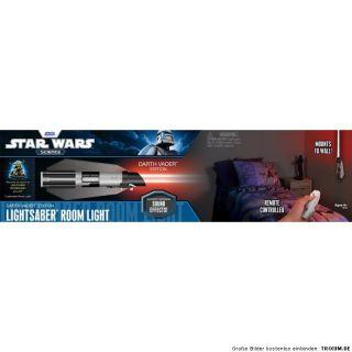 Star Wars Clone Lichtschwert Sound Lampe Wandlampe mit Fernbedienung
