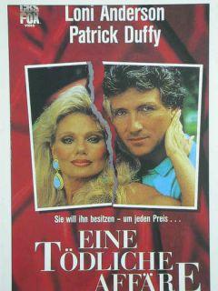 Kino 564 Filmkarte, Eine tödliche Affäre mit Patrick Duffy + Loni