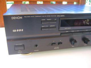 Denon DRA  565 RD Stereo Receiver in schwarz
