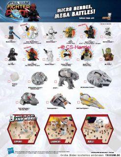 Star Wars Fighter Pods Figur Sammelfigur Figuren Pod Hasbro Serie 1