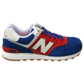 New Balance ML574 OLN ROAD TO London Pack Blue/Red