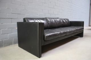 Original Walter Knoll Studio Line Leder Sofa Lounge TOP