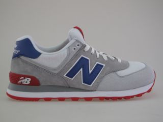 Balance ML 574 CVY white red blue Gr 43 us 9 5 Neu Schuhe 576 577 1500