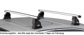 Dachträger Menabo Tema Opel Zafira ohne Reling ab 2004 Aluminium