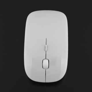 Ultra Thin Mini Wireless Optical Mouse Mice USB 2.4G 2.4GHz For