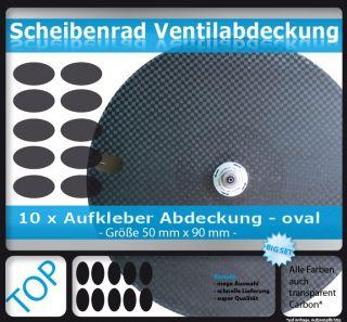 Scheibe   Scheibenrad Ventilabdeckung Ventil Aufkleber