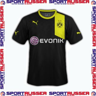 Puma BVB Away Trikot 2012/2013 black/yellow