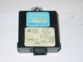 Empfänger FFB ZV Steuergerät Mitsubishi Galant VI MR438842 Omron G8D