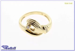 Brillant Damen Ring Gold 585 14 Karat 311584050010 W52