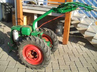 Agria 1700 Hatz Diesel + Pflug + Egge + Gewichte