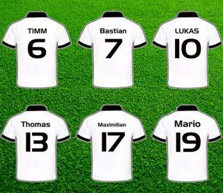 TRIKOT  DEUTSCHLAND Fußball STARS  T Shirt TOP  NEU&OVP
