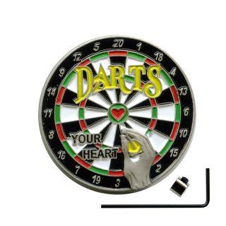Sicherheitsverschluss Dart Metall Button Pin Pins Anstecker 603