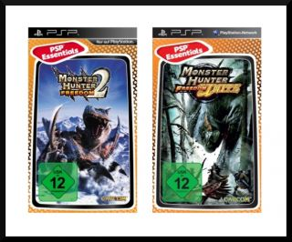 Monster Hunter Freedom 2 und Unite Doppelpack, PSP OVP
