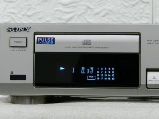 SONY CDP 597 Compact Disc Player