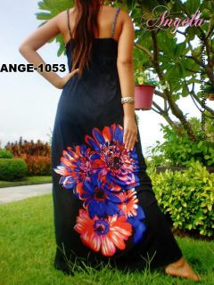 NWT Evening Cocktail Black Long Maxi Dress Sz M XXXL AU 10 12 14 16 18