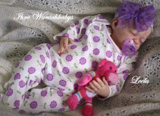 Ihr Wunschbaby Reborn Newborn Baby LeeLu sculpt by Natali Blick