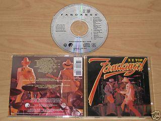 ZZ TOP/FANDANGO (WARNER BROS 256 604) CD ALBUM