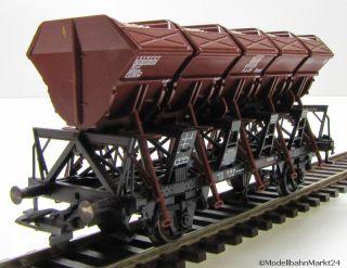ROCO 44074 DB Schüttgutwagen 618 038 aus Set KKK Epoche III Spur H0 1