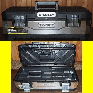 Stanley 1 95 620 Werkzeugbox 26 Metall   Kunststoff galvanisiert