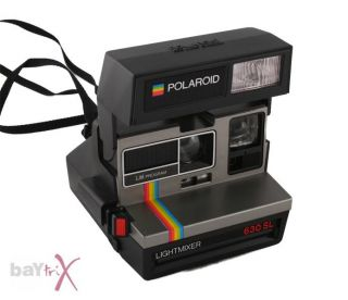 Polaroid 600 Land Camera Lightmixer 630 SL Fotokamera Kamera