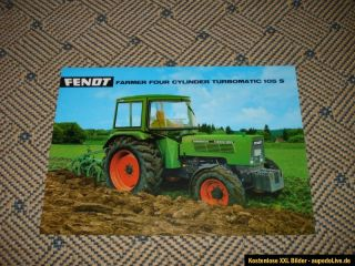 Original Fendt Farmer Turbomatic 105 S Prospekt