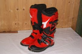 Diadora Motocross Enduro Stiefel neu Farbe rot/sw Gr. 40