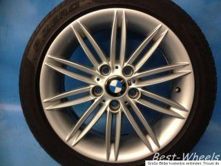 17 zoll Original BMW 1er E87 Styling 207M mit Sommerreifen Neuwertig