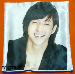 Ki Bum In SUPER JUNIOR Cushion Pillow Cover /Pillowcase Satin Q1