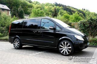 Lombartho LX Black 9,5x 20 Zoll Alufelgen Felgen Mercedes VITO VIANO