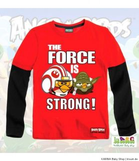 Super ANGRY BIRDS Star Wars Langarmshirt Sweatshirt 104 158 WINTER