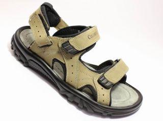 NEU Herren Jungen Leder Trekking Sandalen Outdoorsandale Sandal Schuhe