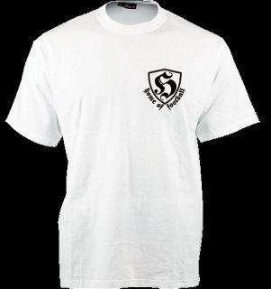 Hooligan Streetwear T Shirt HOF white M XXL