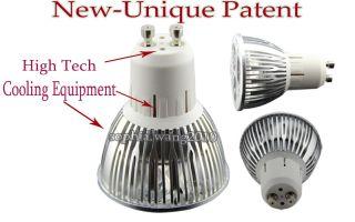 10X Rotundity CREE GU10 High power 3x3W 9W Ultra bright LED Light Bulb