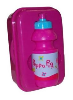 Peppa Pig Back Pack Stationary Lunchbox Bottle Art Set