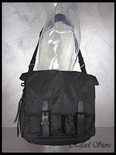 BELSTAFF Herren Schultertasche 756421 S Backpack Bag Pearl Black