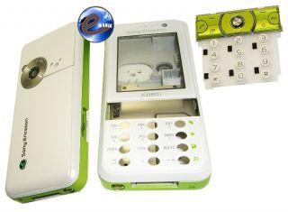 Komplettes Gehäuse Set Oberschale Schale Full Housing Sony Ericsson