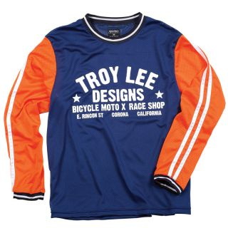 Victoria Cycles   Troy Lee Designs TLD Super Retro Jersey Blue/Red