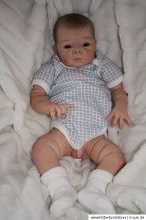 Sammie*** süßes Real Life Reborn Baby Halbtorso Boy ;O)))))