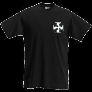 EISERNES KREUZ T Shirt IRON CROSS WKI kleiner Druck 644