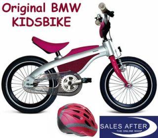Original BMW KidsBike mit Helm Kids Bike ROT Fahrrad Laufrad