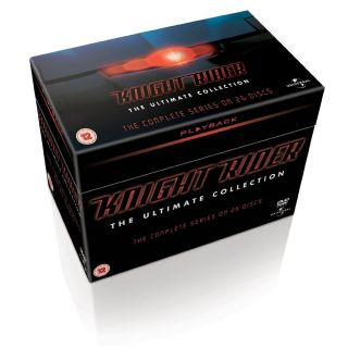 KNIGHT RIDER COMPLETE BOX SET   26 DVD BOX   NEUWARE * ENGLISCHE BOX